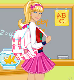 Barbie Going Back To School