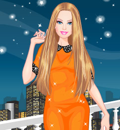 Barbie Nightlife Shopping Dress Up