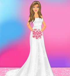 Wedding barbie doll dress up games
