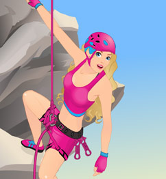Barbie Rock Climber
