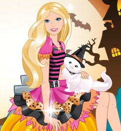 Barbie The Sweetest Halloween Dress Up