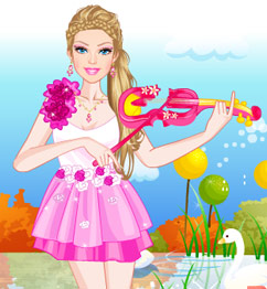 Barbie Violin Player