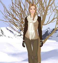 Barbie Winter Dress Up