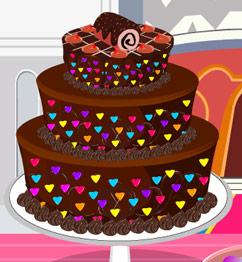 Barbie Chocolate Cake Images : Cartoons Movies: Barbie chocolate Cake game video