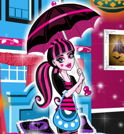 Draculaura Room Decoration Play Barbie Games