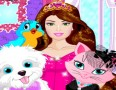 Barbie Princess Pets Care