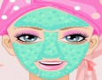 Beach Barbie Facial Make Over