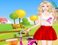 Barbie Bike Dressup